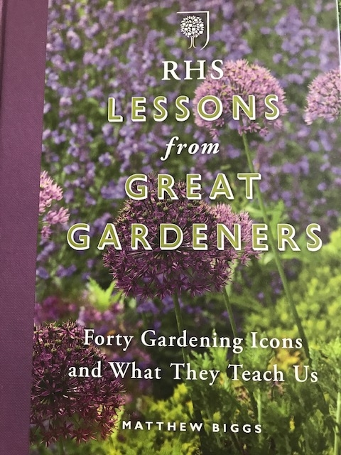 RHS Lessons from Great Gardeners book