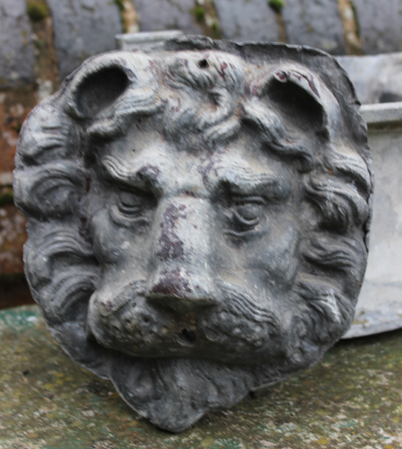 Lion Head for the garden - fountain head