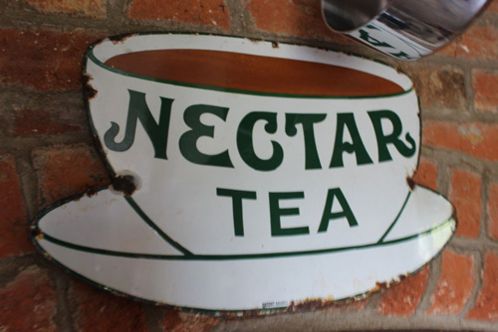 Nectar Tea - Original Enamel Sign (Stk No. 3029)
