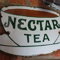 Nectar Tea - Original Enamel Sign (Stk No. 3029) - Photo 1