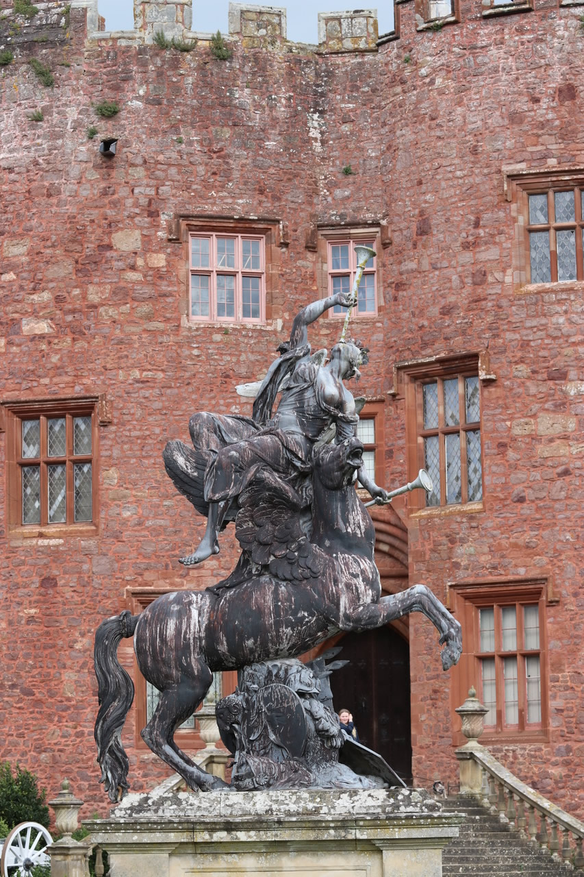 Powis Castle - Garden Statue