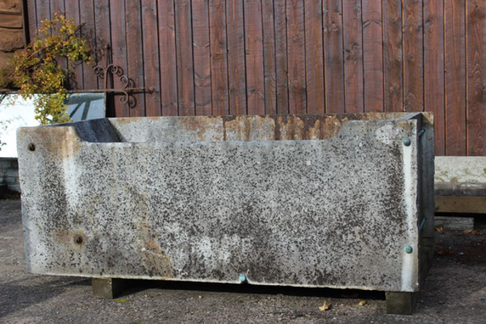 X Large Marble Trough (Stk No.3687)