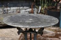 19th Century Trio Pedestal Marble Topped Table (Stk No.3868)