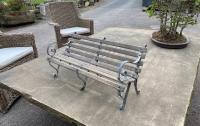 Miniature Garden Bench - poss Salesmans Sample (Stk No.3772)