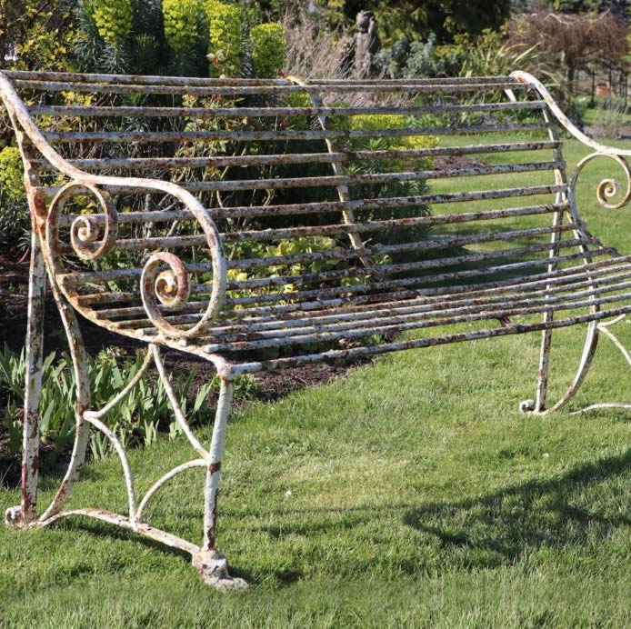 S O L D  Large Regency Garden Seat (Stk No.3824) - Photo 1