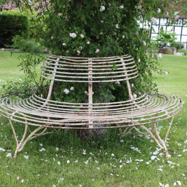 Top Condition Mid 19th C Arras Tree Seat (Stk No.3629)
