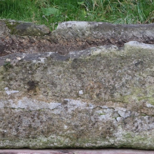 Simple Rectangular Stone Trough (Stk No.3793)