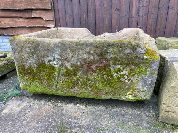 English Sandstone Cattle Trough (Stk No.3902)