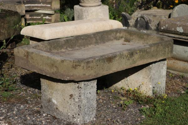 Rounded Corners - Raised Stone Sink (Stk No.3905)