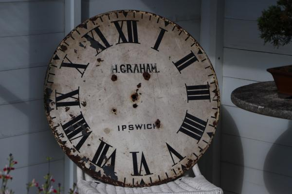 Early 20th Century H Graham Town Clockface (Stk No.3907)