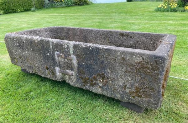 Substantial Pebbly Stone Trough (Stk No.3928)