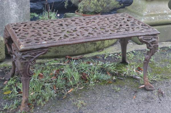 Low Cast Iron Coffee/Patio Table (Stk No.3931)